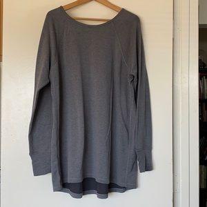2x super comfy long styled sweatshirt